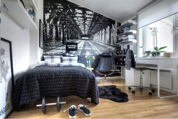 p23 Decorating small bedrooms with style - 34 examples