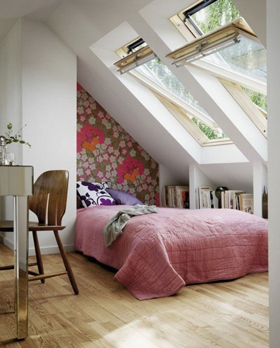 p22 Decorating small bedrooms with style - 34 examples