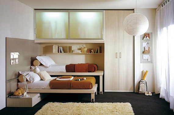 p28 Decorating small bedrooms with style - 34 examples