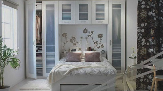 p34 Decorating small bedrooms with style - 34 examples