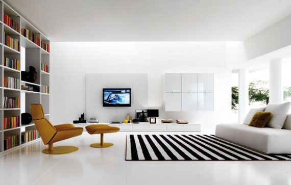 19 The beauty of minimalist living rooms with examples
