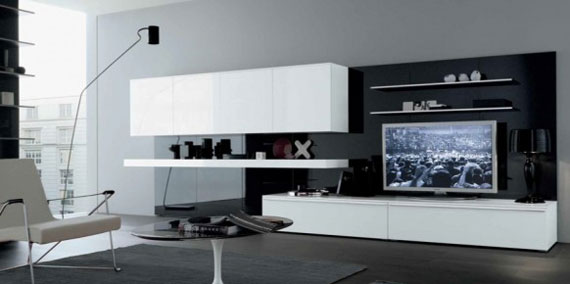 l33 The beauty of minimalist living rooms with examples