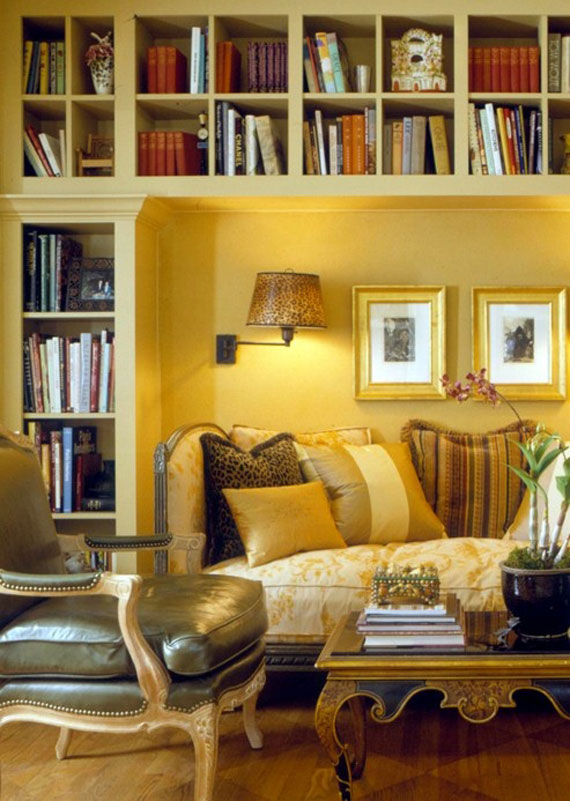 y25 Examples of rooms designed and decorated with yellow