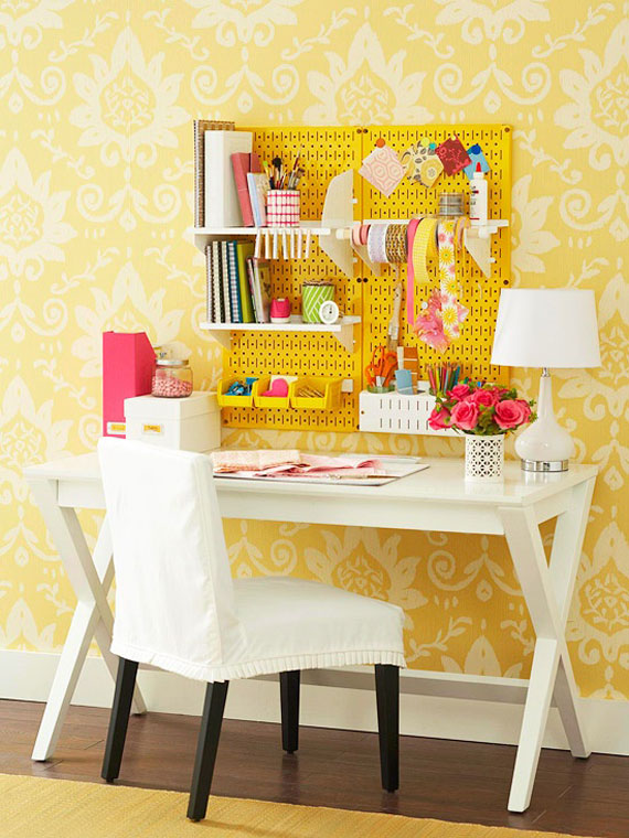 y30 Examples of rooms designed and decorated with yellow