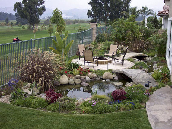 w9 Backyard ponds and water garden ideas - 31 examples