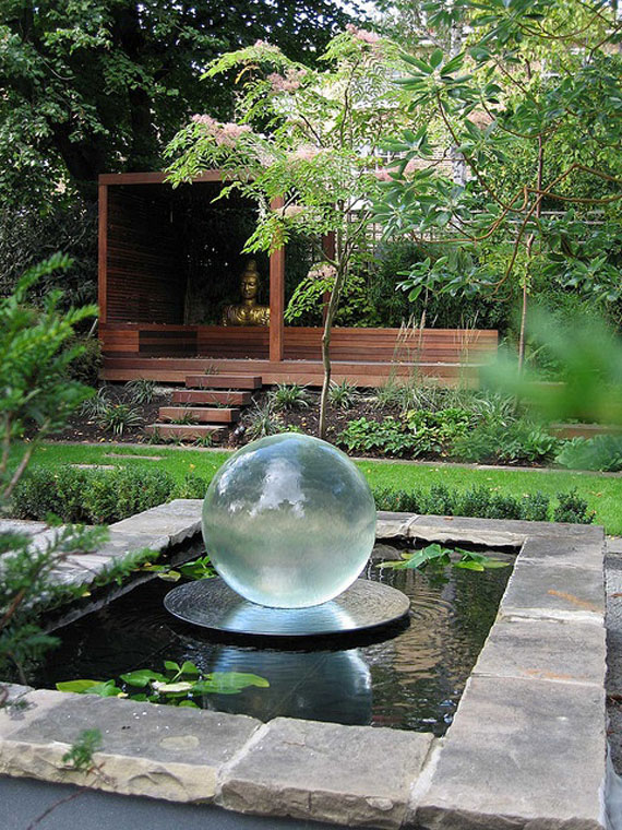w12 Backyard ponds and water garden ideas - 31 examples
