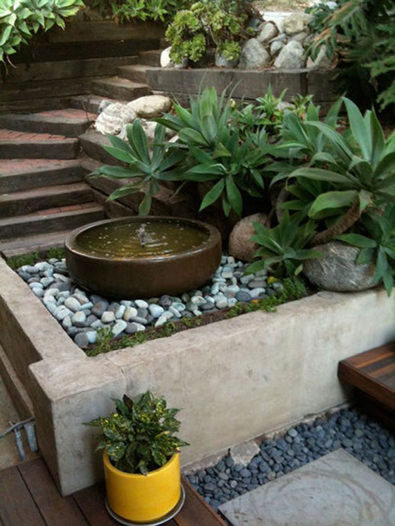 w17 Backyard ponds and water garden ideas - 31 examples