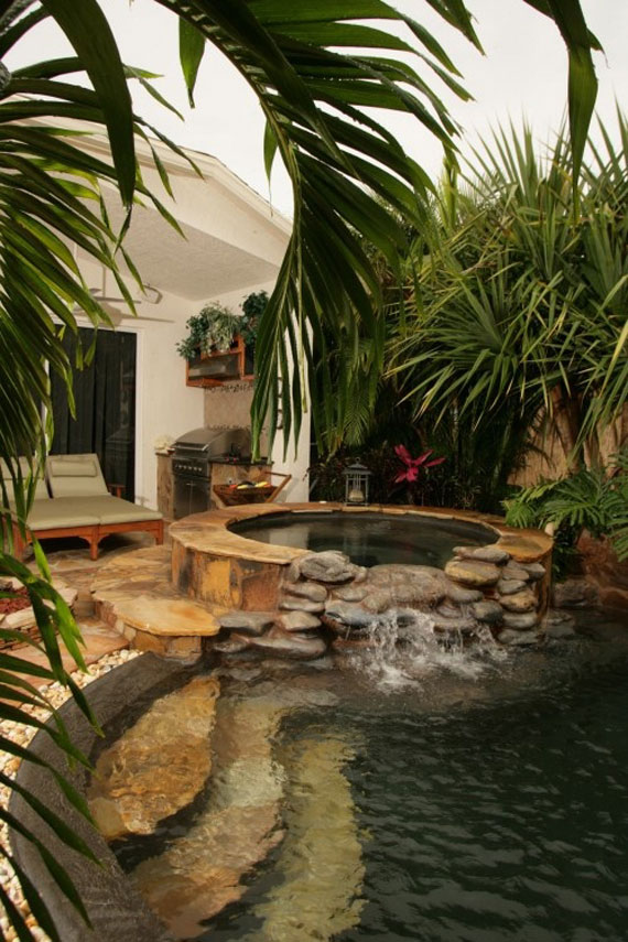 w19 Backyard ponds and water garden ideas - 31 examples