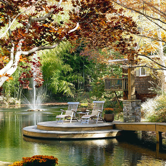 w23 Backyard ponds and water garden ideas - 31 examples