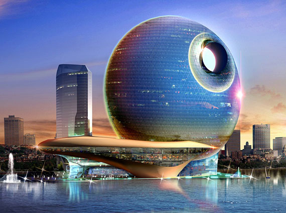 Death Star 3 Futuristic Luxury Resorts That Will Blow You Away
