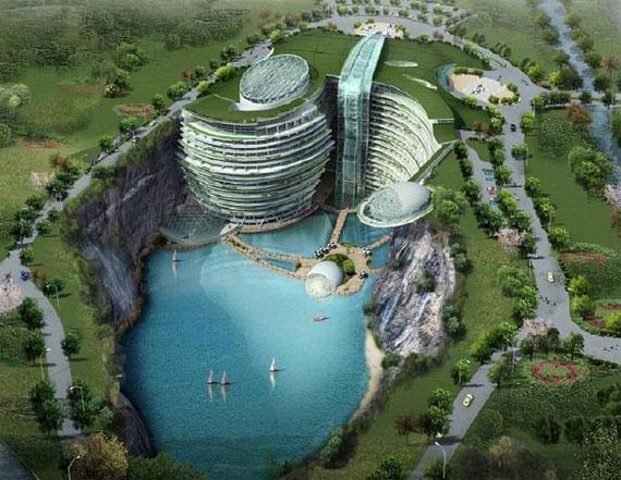 WATERWORLD-2 Futuristic Luxury Resorts That Will Blow You Away