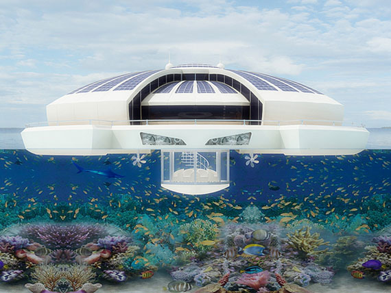 Solar Floating-5 Futuristic Luxury Resorts That Will Blow You Away