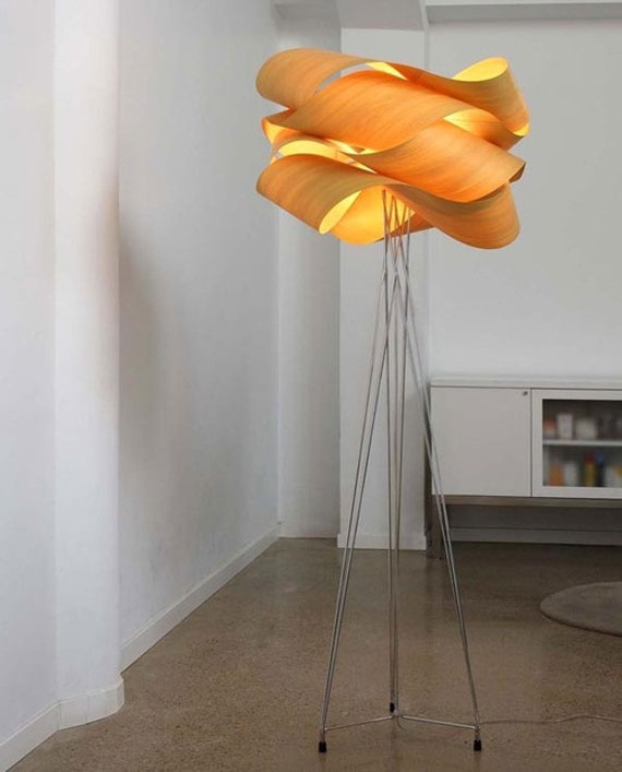 q28 Modern and vintage floor lamp designs to decorate and light up your rooms