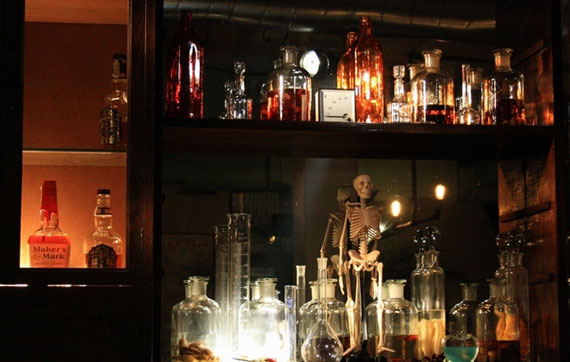 c5 An interesting pub concept: the cocktail laboratory