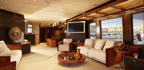 y10 Glamorous Yacht Interior Design Examples That Will Amaze You