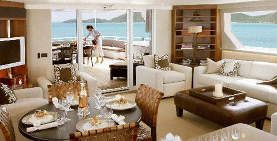 y9 Glamorous Yacht Interior Design Examples That Will Amaze You