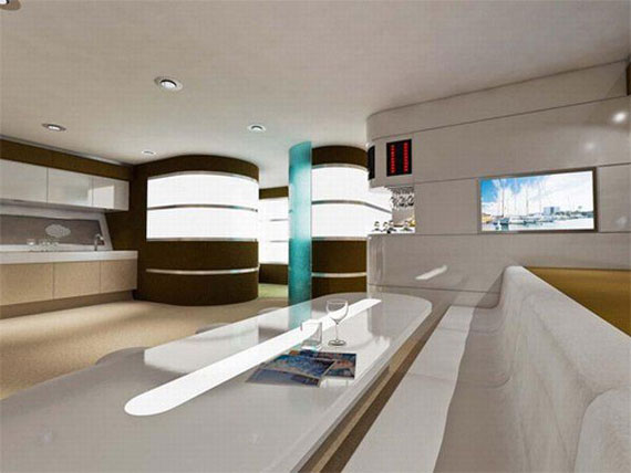 y12 Glamorous yacht interior design examples that will amaze you