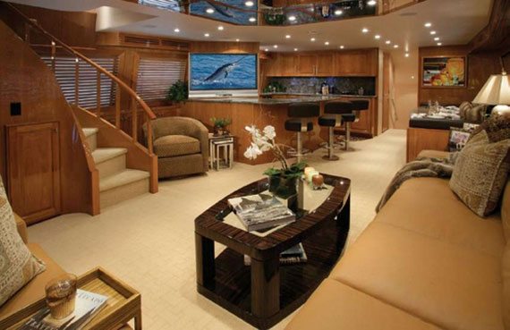 y26 Glamorous yacht interior design examples that will amaze you