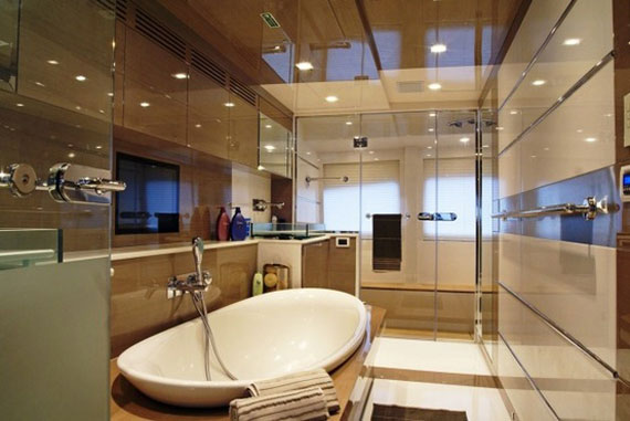 y33 Glamorous yacht interior design examples that will amaze you