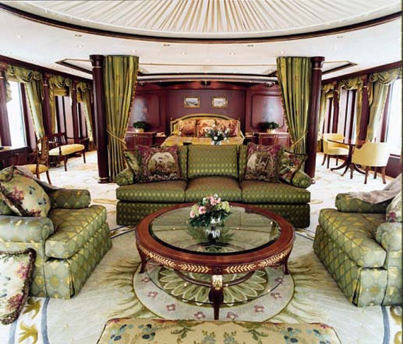 y34 Glamorous yacht interior design examples that will amaze you