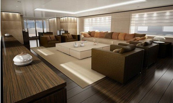 y40 Glamorous Yacht Interior Design Examples that will amaze you
