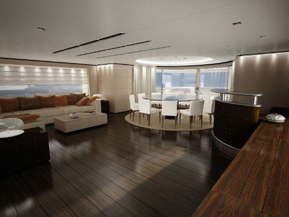 y38 Glamorous yacht interior design examples that will amaze you