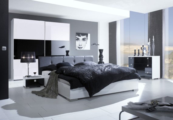 b1 A collection of modern bedroom furniture - 40 images