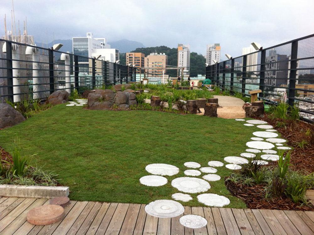 Benefits of a Green Roof 4-1 Benefits of a Green Roof