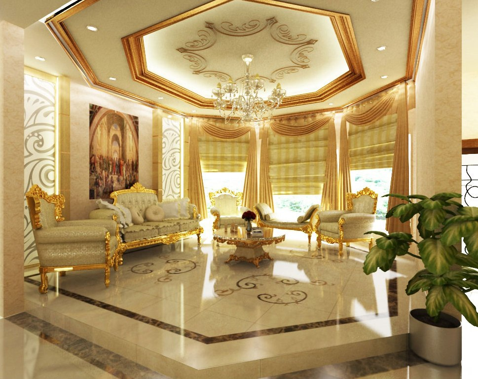 influences Arabic interior design, decor, ideas and photos