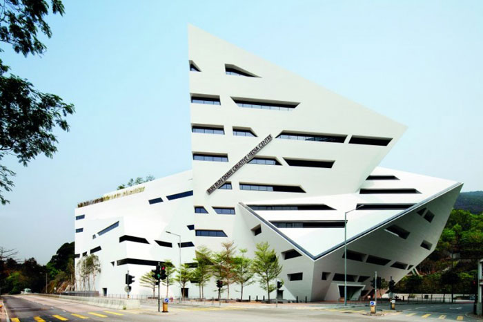 69682743612 Architecture showcase: buildings with sharp angles