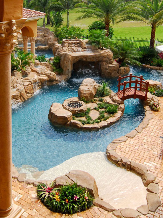w1 backyard ponds and water garden ideas - 31 examples