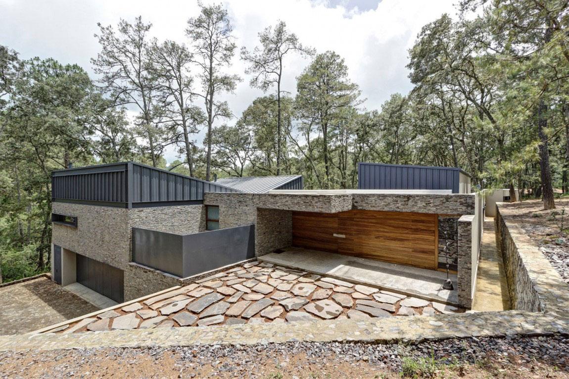 Beautiful Casa-MM-with-a-contemporary-design-created by-Elias-Rizo-Arquitectos-1 Beautiful Casa-MM with a contemporary design created by Elias Rizo Arquitectos