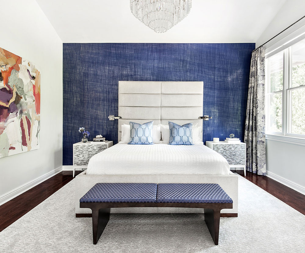 LAKESHORE-by-Clean-Design Blue bedroom design ideas that you can try out in your home