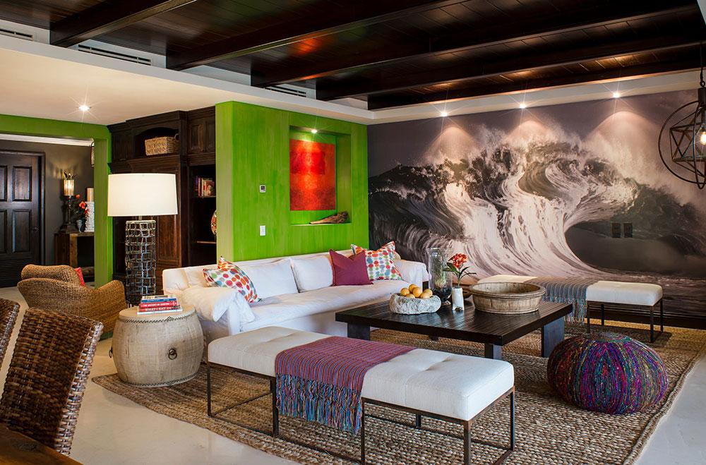 Punta-Minta-Escape-Circa-Interiors Bright and vibrant tropical color schemes