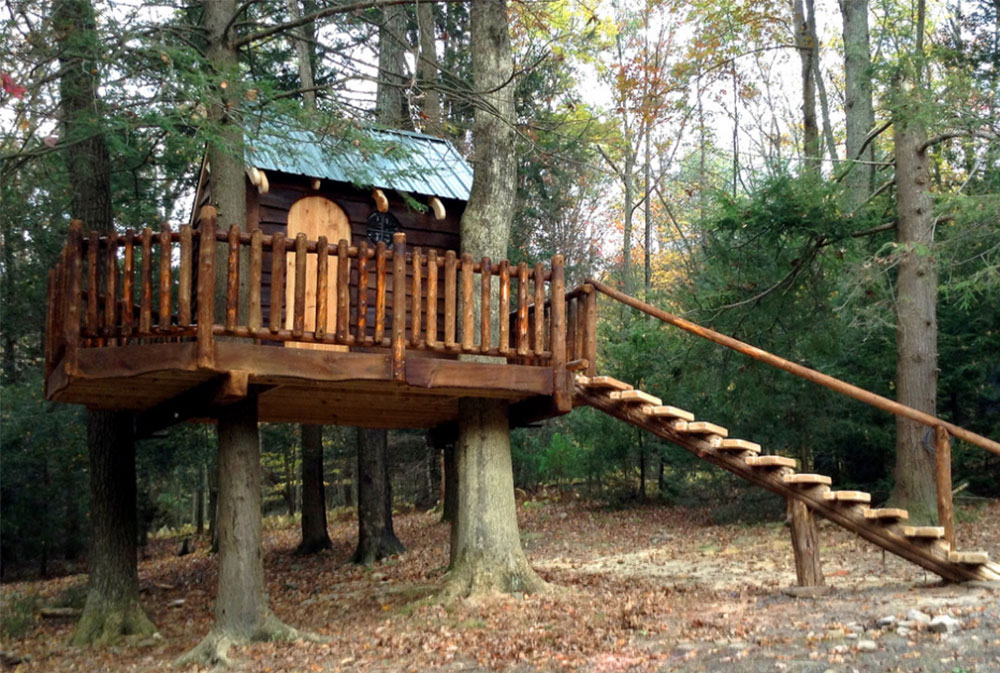 Image 2-7 Cool Tree House Design Ideas to Build (44 Images)