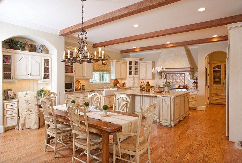 French-Country-by-Creative-Touch-Interiors Country Kitchen: Designs, Ideas, Cabinets and Decor