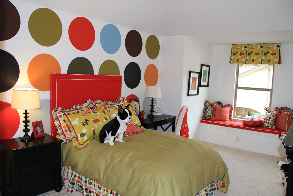 Decorating-your-house-interiors-with-polka-dots-2 Decorate your home-interior with polka dots