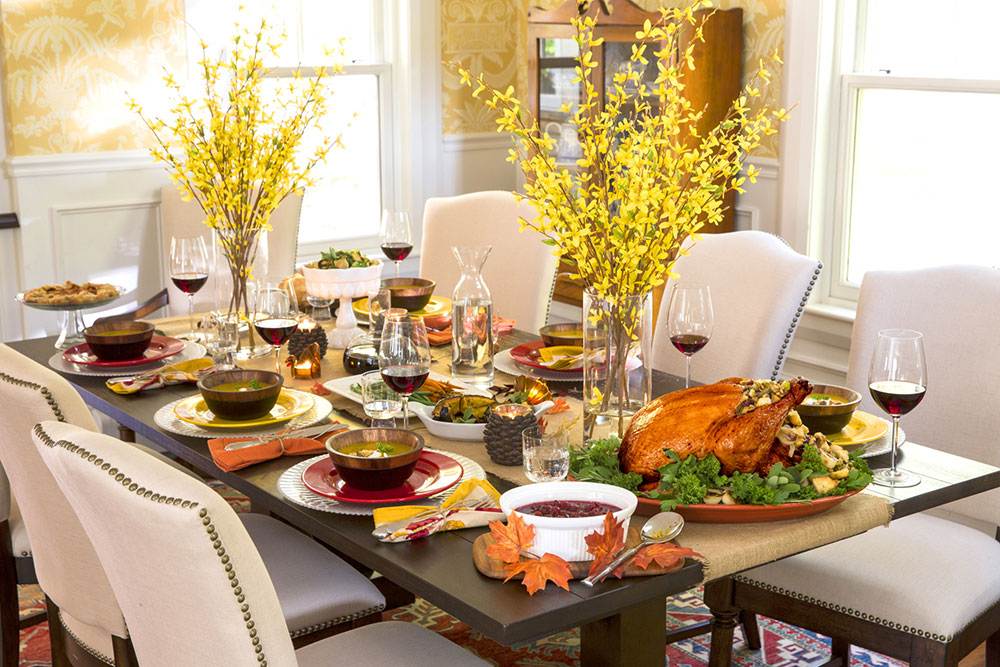 Thanksgiving table decorations to brighten up your Thanksgiving table
