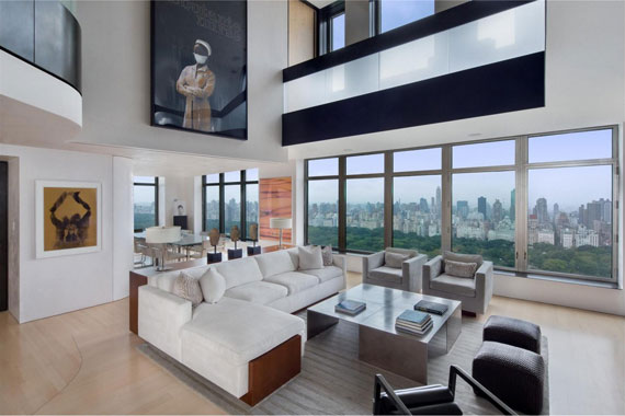 m1 Elegant and modern duplex penthouse in the Park Laurel Condominium
