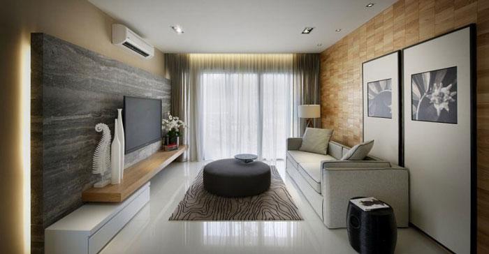 83422264844 Elegant interior design in Kuala Lumpur by Blu Water Studio