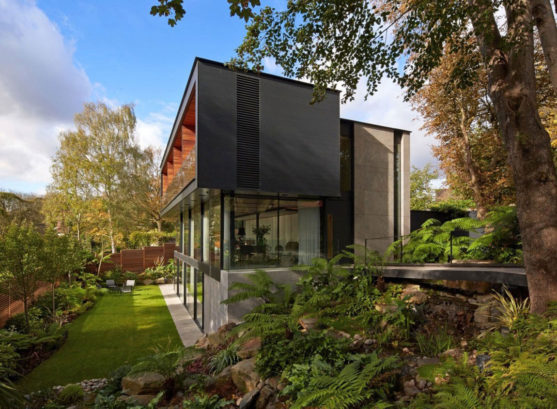 English House with Modernist Architecture 1 English House with Modernist Architecture Designed by Stanton Williams