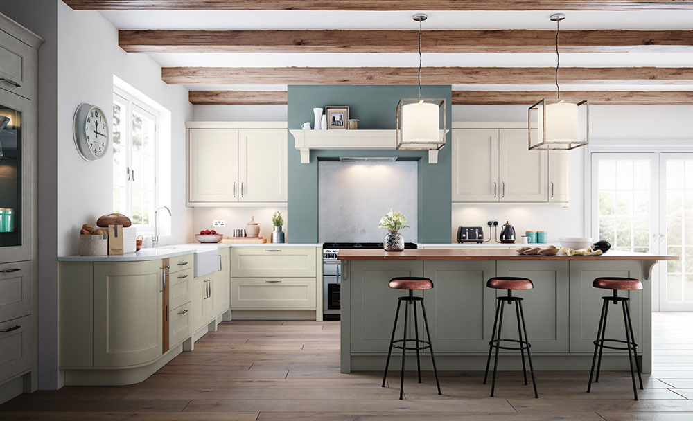 classic-ki Find out about the latest trends in kitchen colors