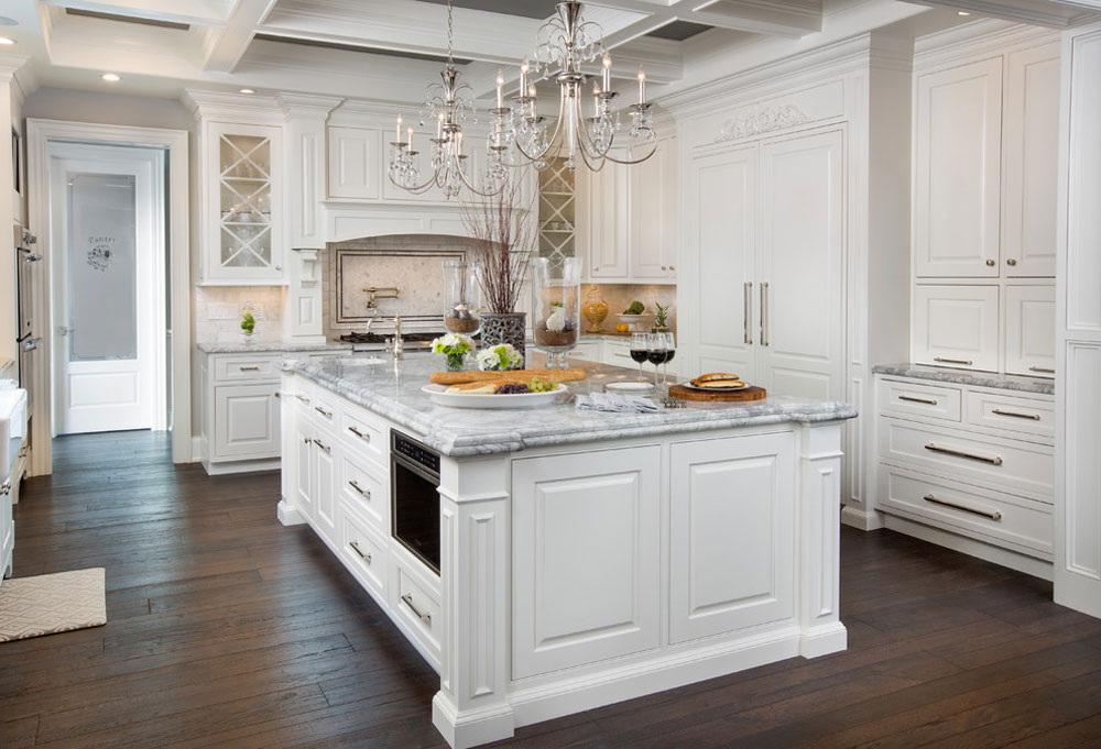 Powell-Ohio-Kitchen-by-Kitchen-Kraft French country kitchen: decor, cabinets, ideas and curtains