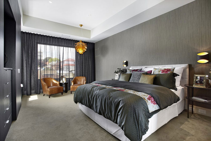 Gray-Bedroom-Interior-1 Gray-Bedroom-Interior-Design that looks just fine