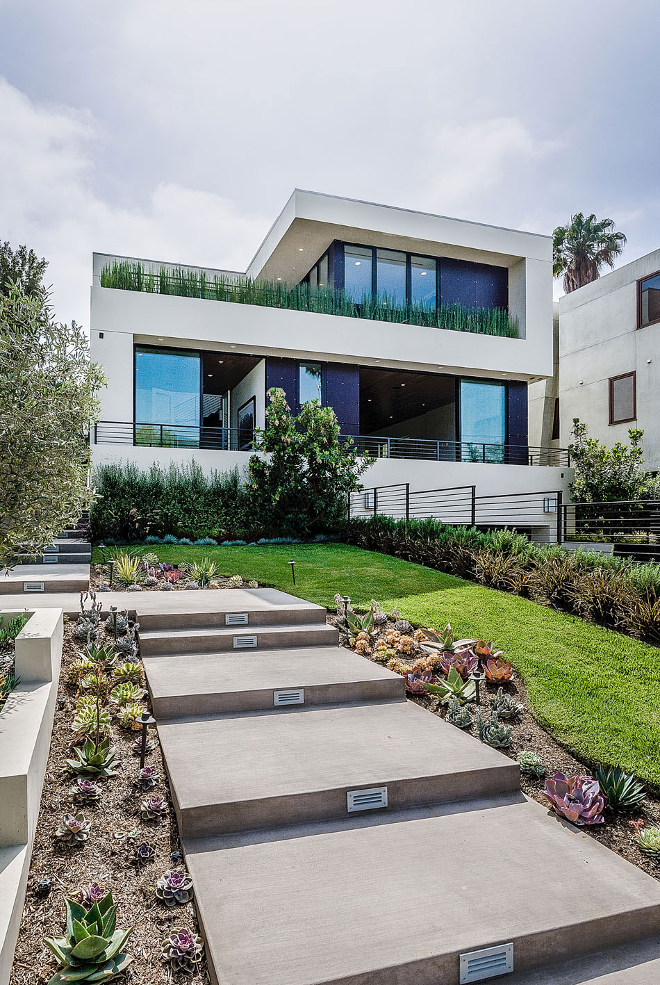 House with a very angular appearance and square windows 1 house with a very angular appearance and square windows