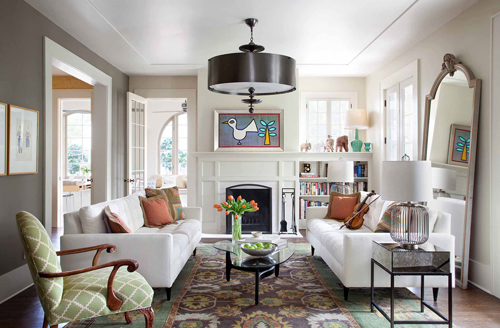 How to Make a Living Room Look Bigger6 How to Make a Living Room Look Bigger