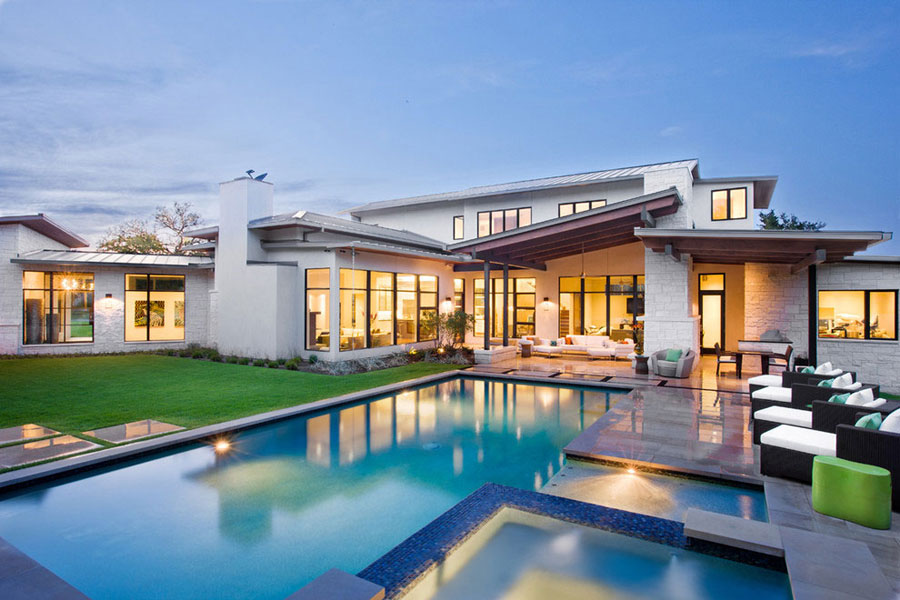 Blanco-House-by-James-D.-LaRue-Architects If you ever design your own house, do it with architecture like this one