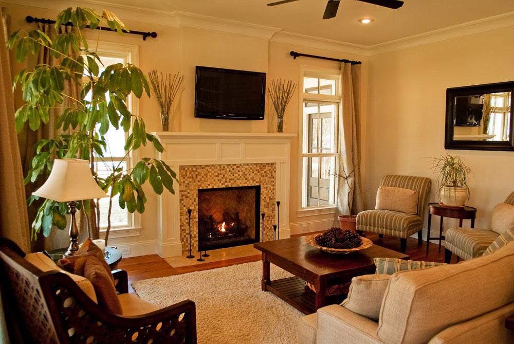 Show-window-of-the-living room-interior-design-with-fireplace-3 Show-window of the living room-interior design with a fireplace