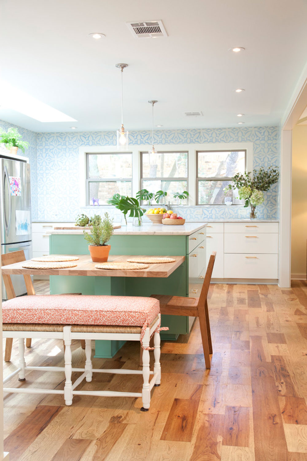Kitchen bench seats that gather the whole family1-1 kitchen table seats that gather the whole family