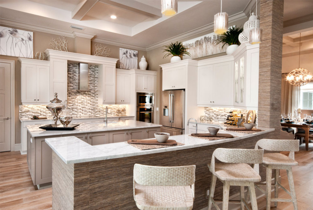 La-Salle-Model-by-Divco-Custom-Homes Kitchen Wall-Décor Ideas